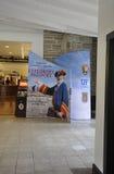 St Augustine FL, el 8 de agosto: Interior de centro del visitante de St Augustine en la Florida Imagenes de archivo