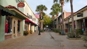 St. Augustine FL stock video footage