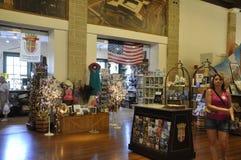 St Augustine FL, o 8 de agosto: Loja do centro do visitante de St Augustine em Florida Foto de Stock