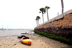 St Augustine, Florida beach Royalty Free Stock Photography