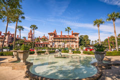 St. Augustine, Florida downtown cityscape at Flagler College Royalty Free Stock Image
