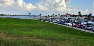 St. Augustine Florida. Historic downtown waterfront stock photos