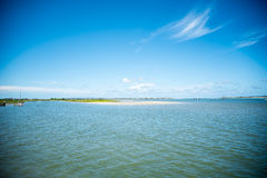 St. Augustine Florida Landscape. Over atlantic ocean Stock Photos