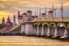 St, Augustine, Florida Skyline Stock Image