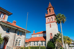 St. Augustine, Florida, USA. Flagler College.  stock images