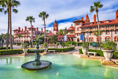 St. Augustine Florida. St. Augustine, Florida, USA town square and cityscape Stock Photo