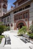 St Augustine, Floryda usa - Flagler szkoły wyższa podwórze zdjęcie stock
