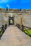 St. Augustine fort, Castillo De San Marcos Krajowy zabytek obrazy royalty free