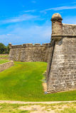 St. Augustine Fort, Castillo de San Marcos  Stock Photography