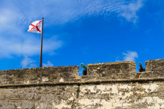 St. Augustine Fort, Castillo de San Marcos Royalty Free Stock Images