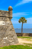 St. Augustine Fort, Castillo de San Marcos Stock Photos