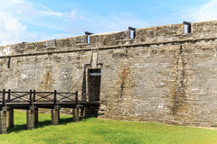 St Augustine Fort, Florida Immagini Stock