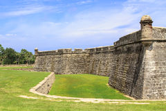 St. Augustine Fort, Florida Stock Photos