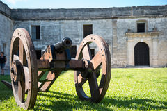 St. Augustine Fort Florida Landscape Stock Photography