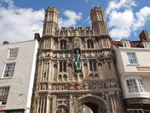 St Augustine Gate in Canterbury Royalty Free Stock Image