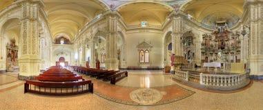 St Augustine Kirche in Havana stockbilder