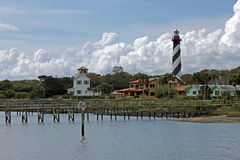 St Augustine Lighthoue Royalty Free Stock Images