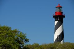 St. Augustine Lighthouse Royalty Free Stock Photo