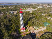 St. Augustine Lighthouse, Florida, USA royalty free stock images