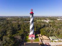 St. Augustine Lighthouse, Florida, USA stock photos