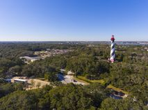 St. Augustine Lighthouse, Florida, USA royalty free stock photos