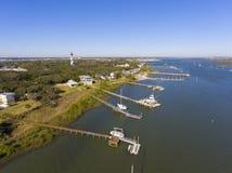 St. Augustine Lighthouse, Florida, USA royalty free stock photography