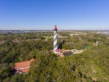 St. Augustine Lighthouse, Florida, USA stock image