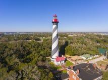 St. Augustine Lighthouse, Florida, USA royalty free stock photo
