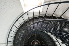 St. Augustine Lighthouse interior Royalty Free Stock Photography