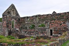St Augustine Nunnery, Chapal ruins, Royalty Free Stock Photo
