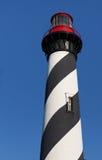 St. Augustine pracująca latarnia morska w Floryda fotografia stock