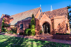 St Augustine's Anglican Church, Shepparton Stock Photos