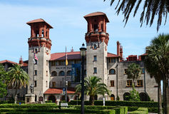 St Augustine's City Hall and Lightner Building. Royalty Free Stock Photo