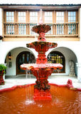 St. Augustine: Spanish Fountain Stock Photo