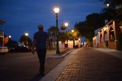 St Augustine ulica zdjęcia royalty free