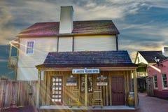 St Augustine Welcome Center en la ciudad vieja en la costa histórica de la Florida foto de archivo libre de regalías