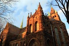 St- AugustineRömisch-katholische Kirche in Brooklyn stockfoto