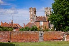 St Augustines修道院本尼迪克特的修道院留在坎特伯雷 库存照片