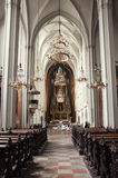 St. Augustines教会在维也纳,奥地利 免版税图库摄影