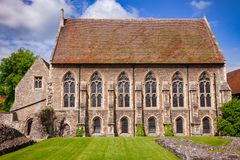 St Augustines Abbey Benedictine monastery College chapel in Cant Royalty Free Stock Photos