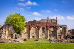 St Augustines Abbey Benedictine monastery remains in Canterbury Royalty Free Stock Photos
