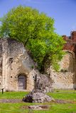 St Augustines Abbey Benedictine monastery remains in Canterbury Royalty Free Stock Photo
