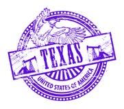 stämpel texas Arkivfoto