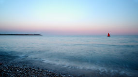 St. Austell strand royalty-vrije stock afbeelding
