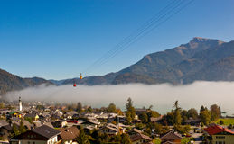 St austriaca Gilgen del villaggio immagini stock libere da diritti