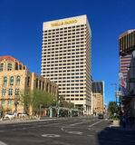 1st Ave and Jefferson St, Phoenix, AZ Royalty Free Stock Photos