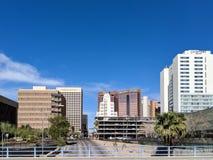 1st aveny, Phoenix, AZ Arkivfoto