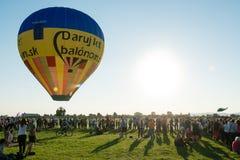 1st Balloon megafiesta, Piestany, Slovakia Stock Image