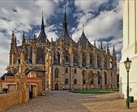 ST. BARBARA'S CATHEDRAL - Kutna Hora Royalty Free Stock Photography