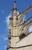 St. Barbara cathedral pinnacles in Kutna Hora Royalty Free Stock Photos